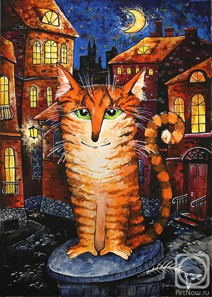 Каминская Мария. кот