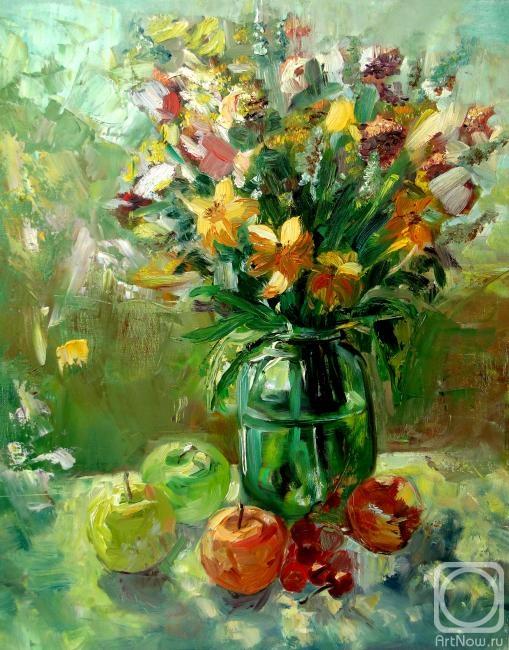 Луга с полевыми цветами 49