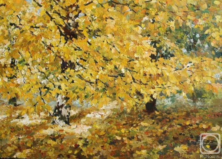 листопад в картинах художников