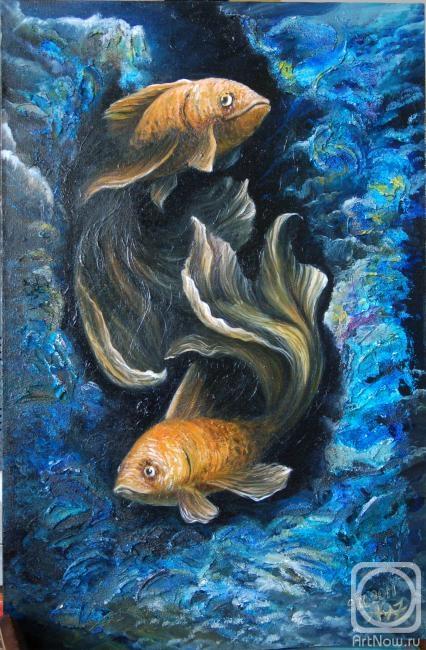 Казинская Елена. Подводный танец