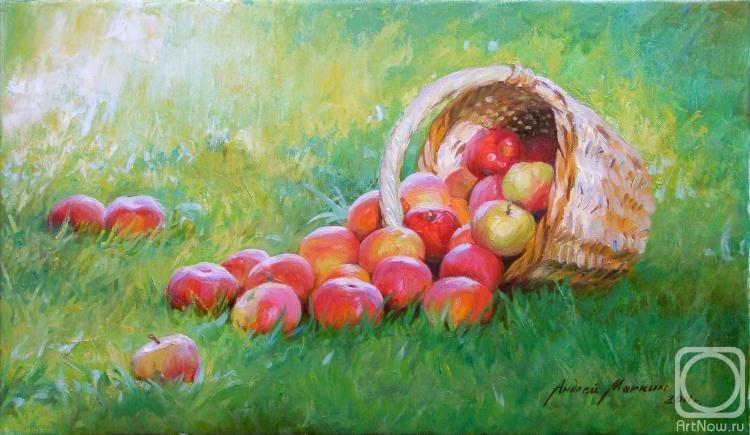 яблоки живопись: