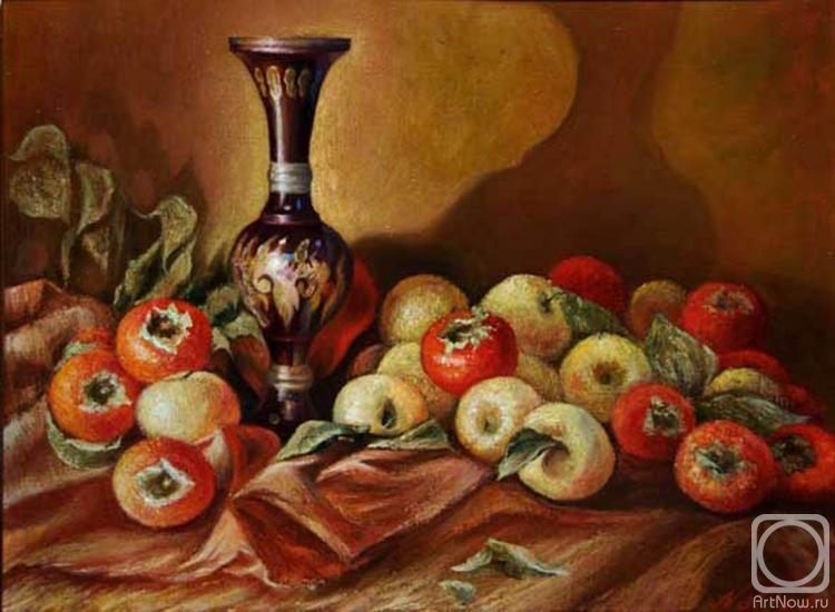 Нафиса. Яблоки и хурма