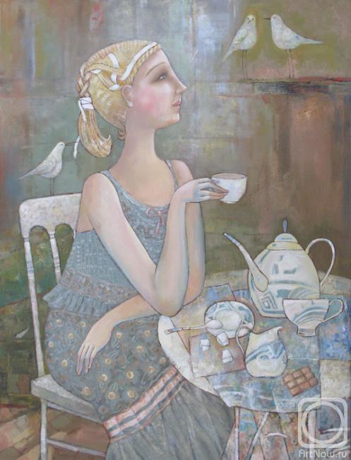 Сипович Татьяна. чай с молоком