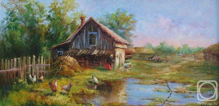 В деревне у бабушки. Картины художника. Грохотова Светлана ...