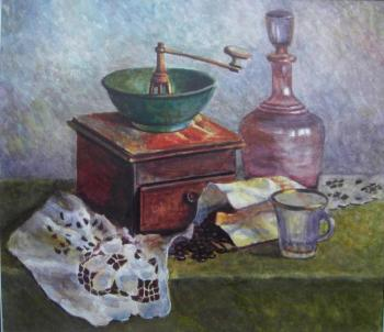 Old coffee grinder. Nikolaeva Elena