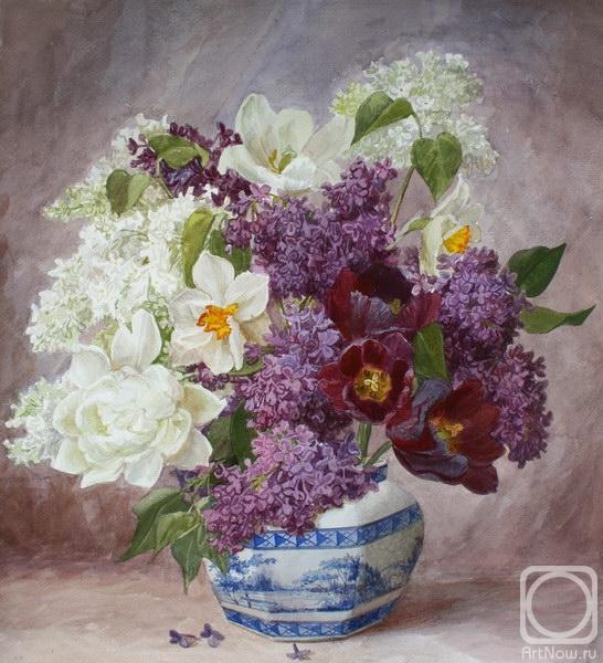 Кирьянова Виктория. Букет садовых цветов