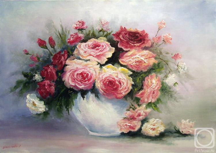 Грохотова Светлана. Чайные розы
