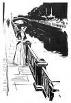Chistyakov Yuri. Illustrations for the novel �White Nights� by Fyodor Dostoyevsky- 8/81
