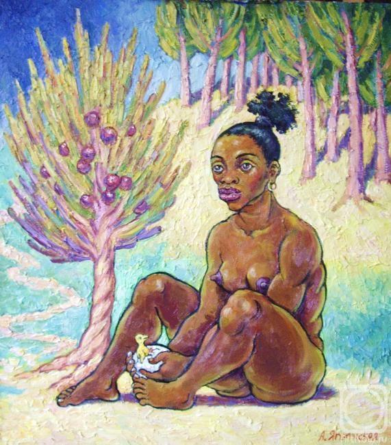 gogen  Painting «Gogen, i love, you!» — buy on