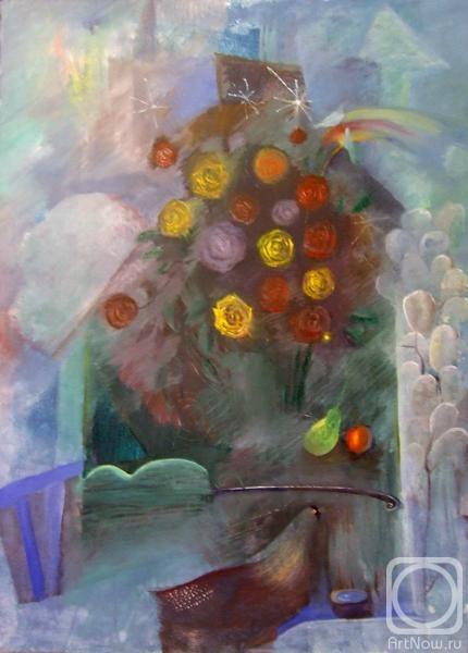 Картины художника праздник в доме