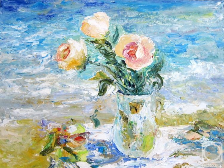 Кузнецова Анна. Розы на морском берегу