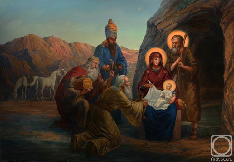 Москвитин Филипп. Рождество Христово.