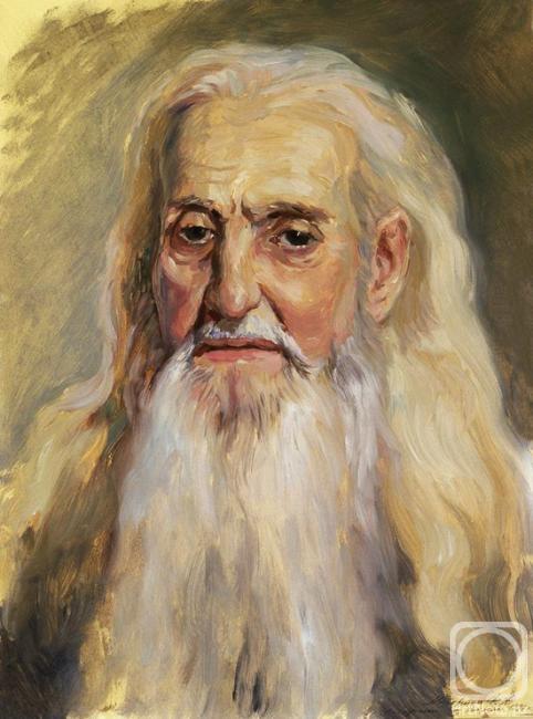 Image result for «Старец Сергий». Современный русский художник Филипп Александрович Москвитин