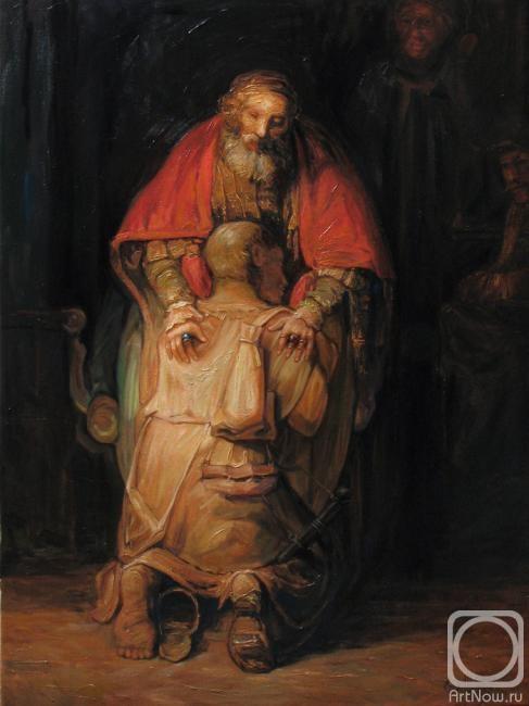картина рембрандта возвращение блудного сына: