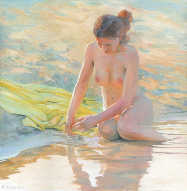 голого рисует парня художница юная
