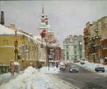 Снег на ул. Пестеля. Зима 2010г.