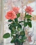 Kharchenko Victoria. Snow roses