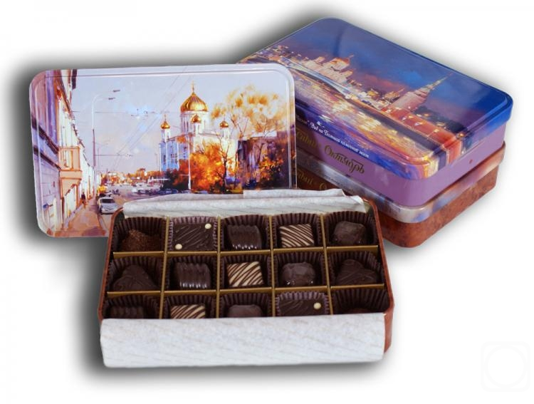 "Shalaev Alexey. A set of chocolates. The manufacturer of ""Red October"""