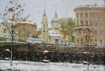 Galimov Azat. The Rivers Fontanka. The Church Simeoniya and Anny. The Winter