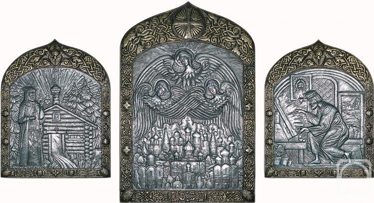 Морозов Виктор. Триптих «Свет Троицы»