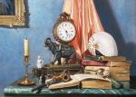 Картины на тему «Натюрморт с часами»