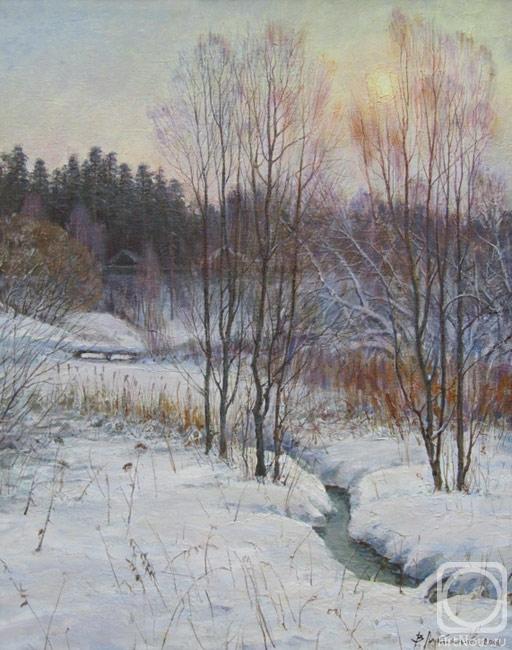 Лукьянов Виктор. Зимнее солнце