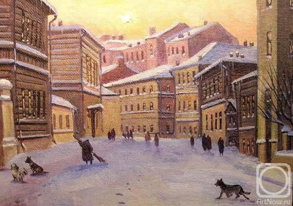 Герасимов Владимир. Москва. Колобовский пер. (2)