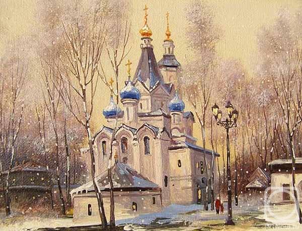 Герасимов Владимир. Москва. Вешняки, Успенский храм (2)