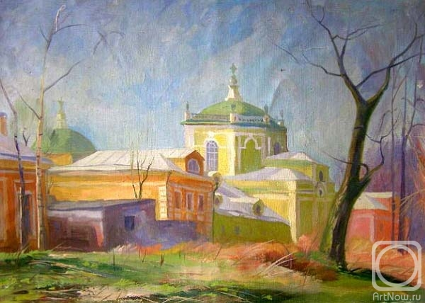 Gerasimov Vladimir. Greenhouse of Kuskovo