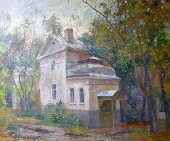 Gerasimov Vladimir. Moscow. 1st Cossack Lane, the past of the pink mansion house 6