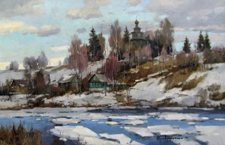 Савченко Алексей. весенние дни
