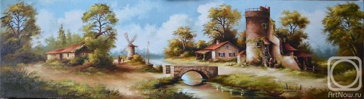 Новицкий Геннадий. голландский пейзаж