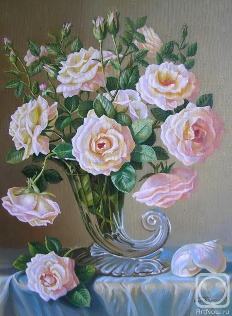 Сидоренко Жанна. Розы и перламутр