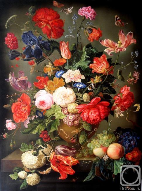 Селищева Елена. Цветы и фрукты