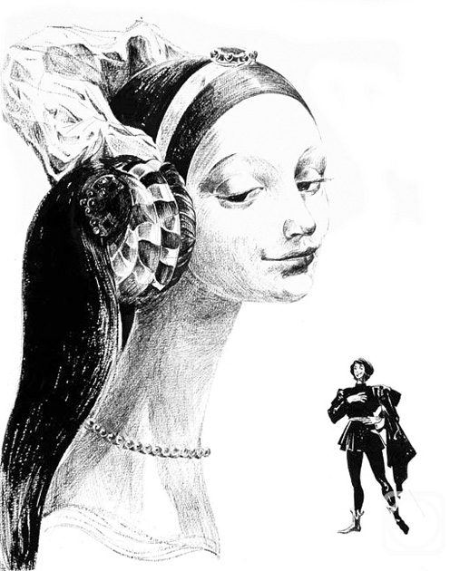 Chistyakov Yuri. Illustrations to Shakespeare: Romeo and Juliet -2/73