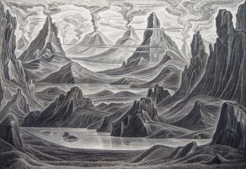 Destruction of Atlantis (Volcanoes). Zhupan Ivan
