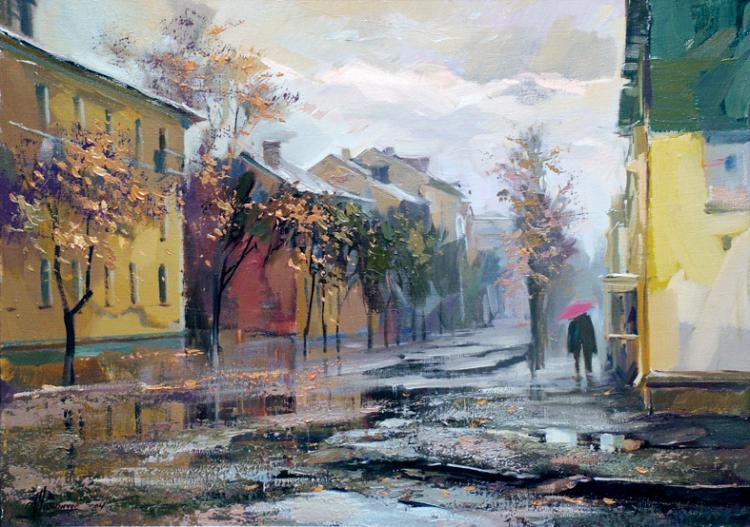 Романчук Игорь. Мелодия дождя