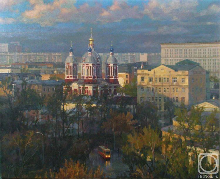 Волков Сергей. Москва. Вид на храм Св. Климента