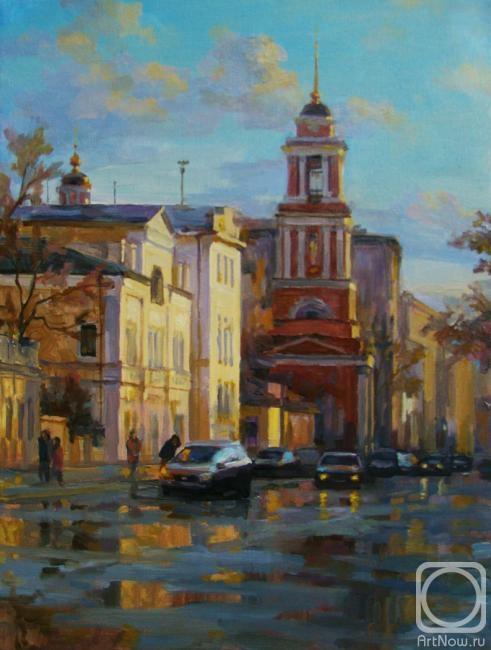 Волков Сергей. На Пятницкой после дождя