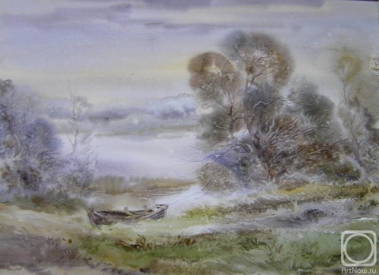 Хайков Игорь. Утро на озере. Октябрь