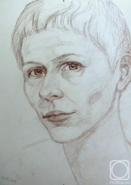 Симашова Ольга. Автопортрет