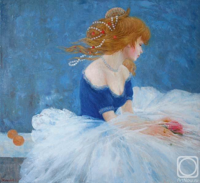 Колесов Максим. Девушка с цветком