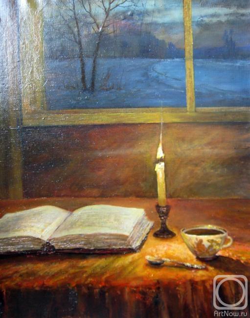 Корытов Сергей. Натюрморт со свечей