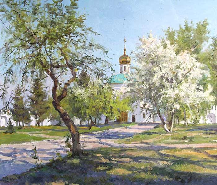 Ефремов Алексей. В монастыре. Далматово