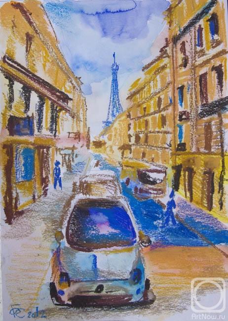Гребенник Ольга. Париж