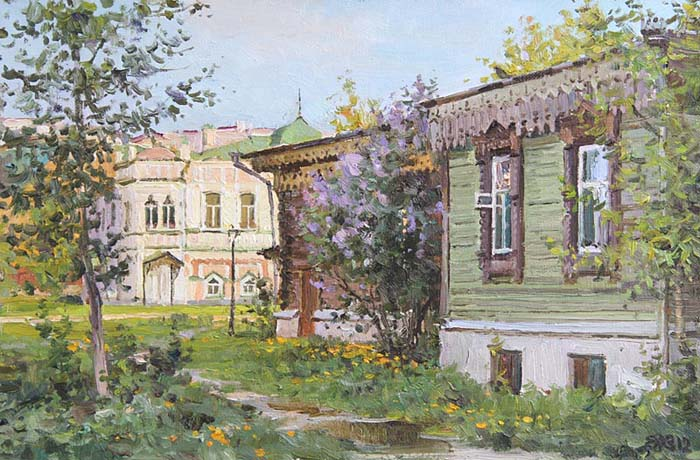 Ефремов Алексей. Утро в старом городе