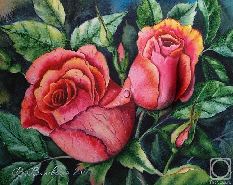 Valevskaya Valentina. Two Roses