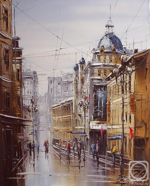 картины городской пейзаж: