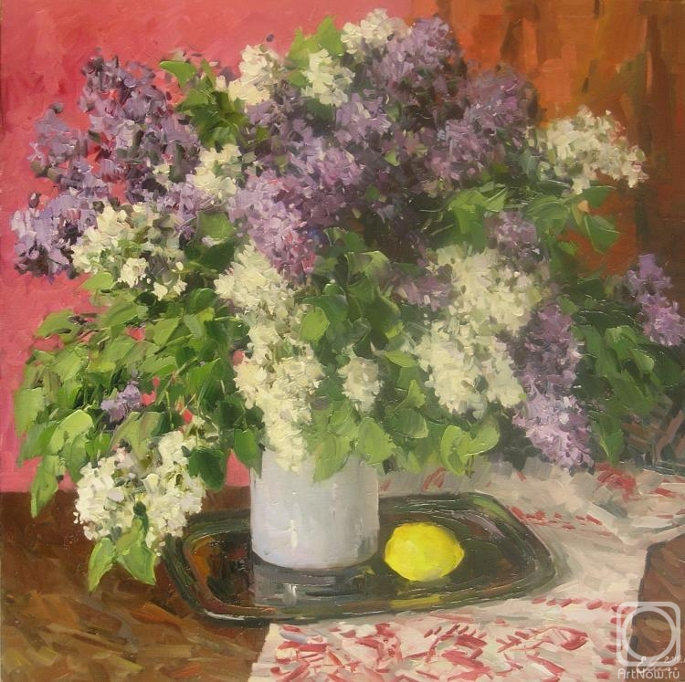 Malykh Evgeny. The lilac bouquet
