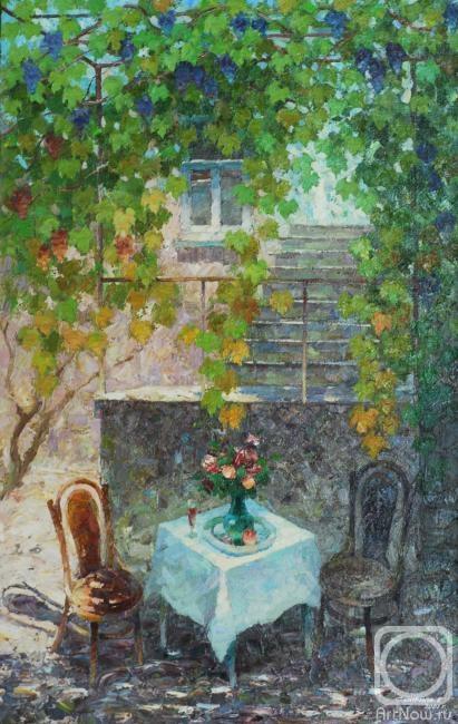 Картины художника виноградная лоза